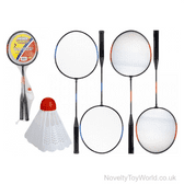 Badminton Play Set Rackets & Shuttlecock - Sports Toys